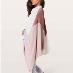 Lululemon Hatha Wrap/Shawl/Sweater, One Size